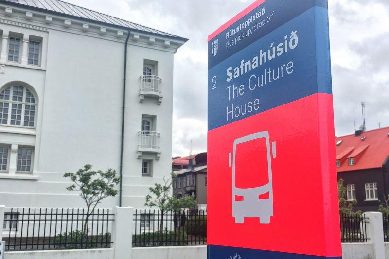 bus stop reykjavik pick up location pick up locations