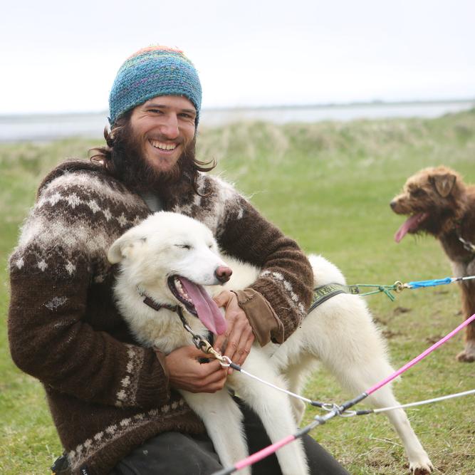 visit to the kennel tour dogsledding sled dog
