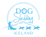 dog sledding iceland logo