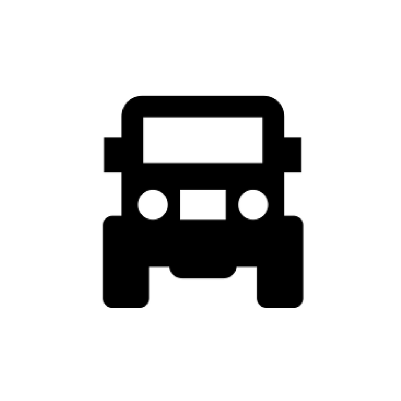 dogsledding tour, tour with transfer service, bus
