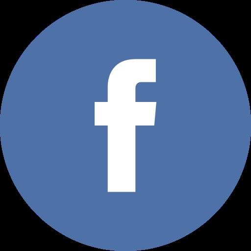 facebook icon blue