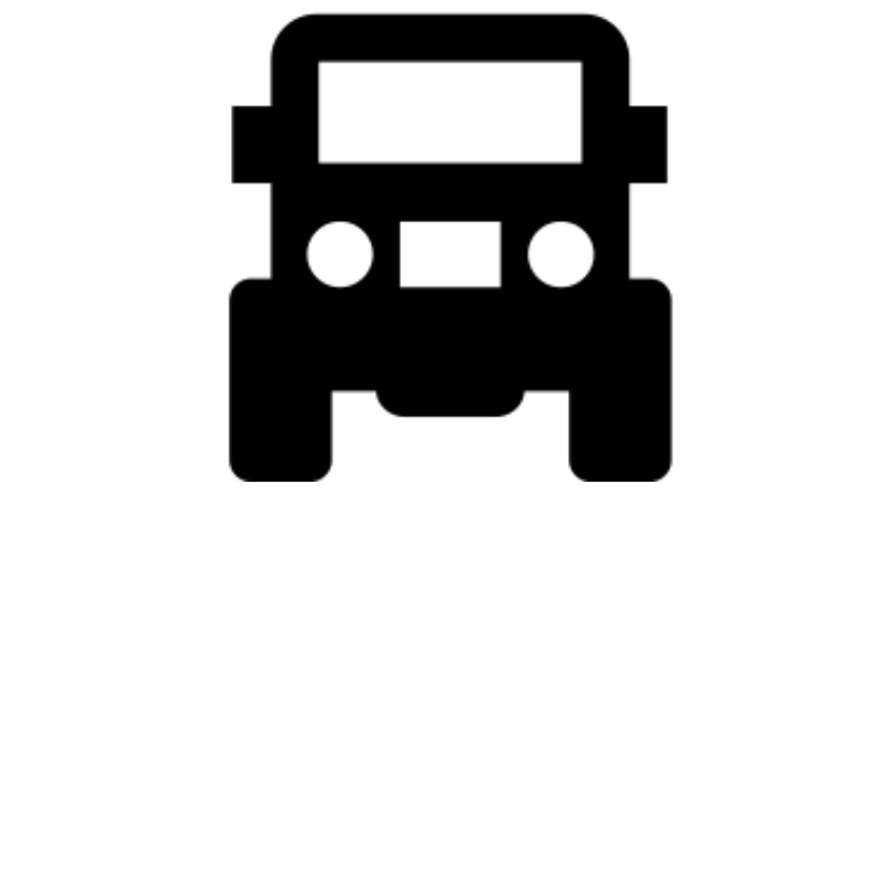 car icon white background