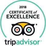 trip advisor logo 2018 certificate of excellence